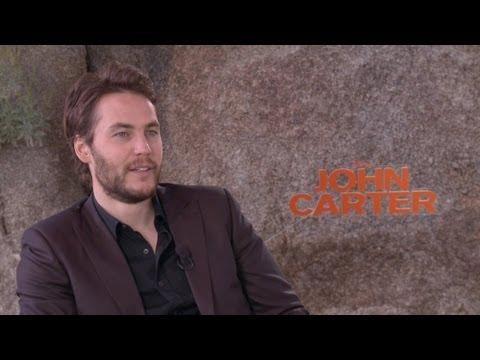 'John Carter' Taylor Kitsch Interview HD