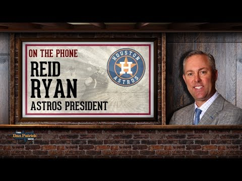 Houston Astros President Reid Ryan on The Dan Patrick Show | Full Interview | 8/31/17