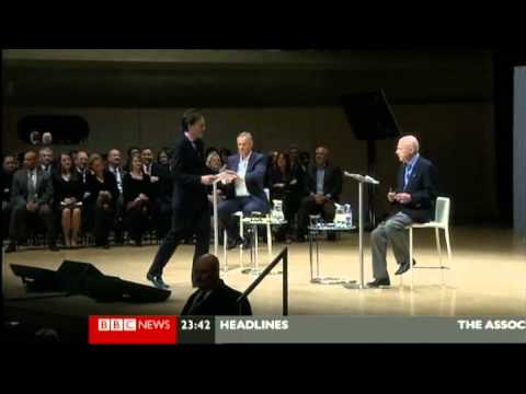 Tony Blair and Christopher Hitchens Debate Religion - Munk Debate