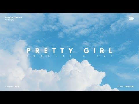 PRODUCE X 101   크레파스 (Crayon) - 이뻐이뻐 (Pretty Girl) Piano Cover