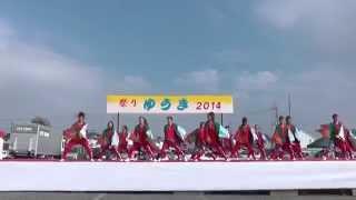 いばらき熊連さん「アクロス南駐車場」 結城舞祭2014 結城舞衣 動画 21