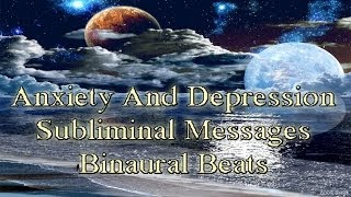 Subliminal Hypnosis For Anxiety Depression 528hz Binaural Beats Meditation | Endorphins Release