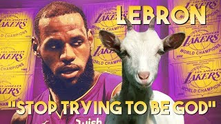 LeBron James ft. Travis Scott - STOP TRYING TO BE GOD ᴴᴰ (LAKERS HYPE MIX 2018)