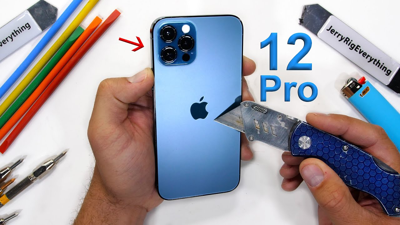 iPhone 12 Pro Durability Test - Is 'Ceramic Shield' Scratchproof?!