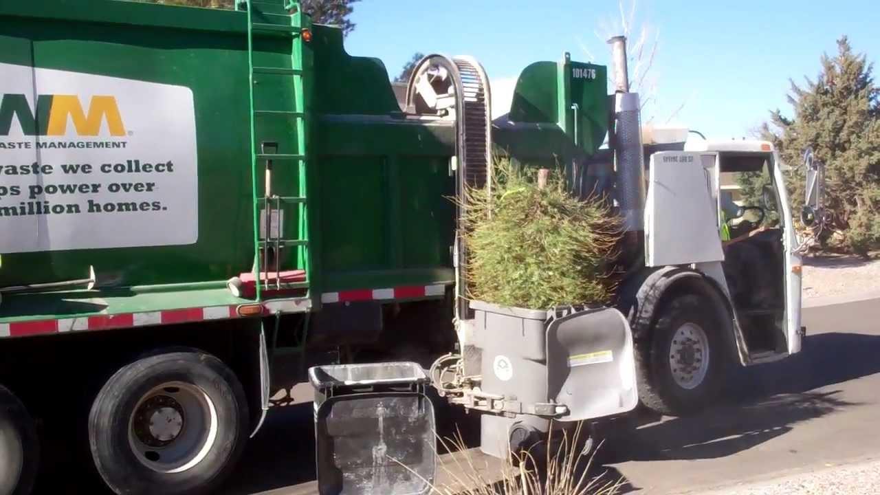 WM Waste Management - Christmas Tree Fail - YouTube