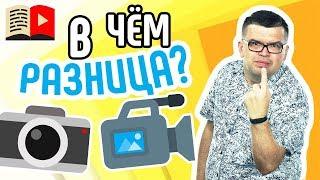 Что выбрать для съемки на YouTube-канал: видеокамеру или фотоаппарат? Чем снимать видео на YouTube?