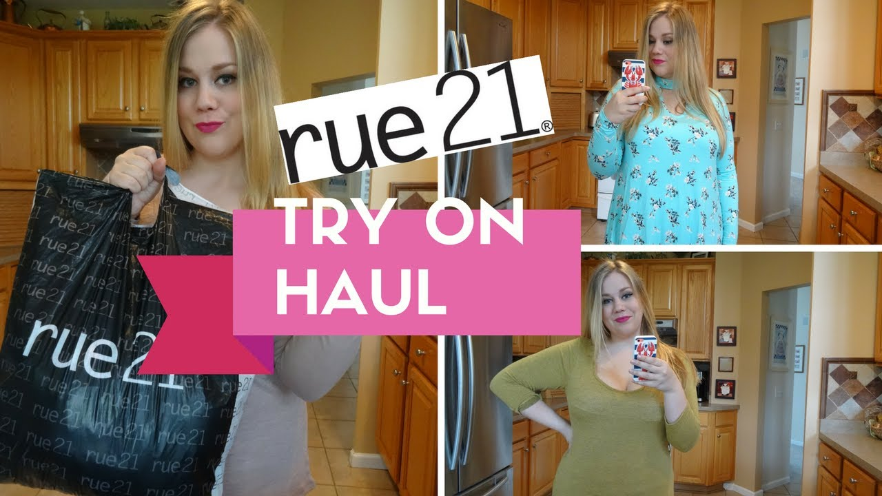 rue 21 + plus size try on haul | great clearance finds | june 4