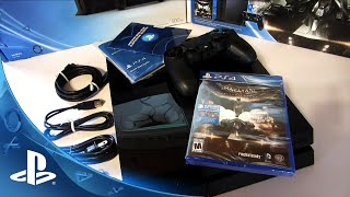 500GB PlayStation 4 Batman Arkham Knight Bundle UNBOXING!(Hope you guys enjoy my 500GB PlayStation 4 Batman Arkham Knight Bundle UNBOXING!, 2015-06-25T21:00:01.000Z)