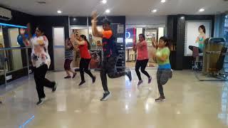 Zumba aerobics / zumba aerobics in bollywood style / how to loose weight in aerobics