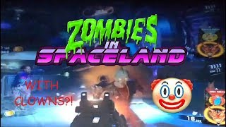 KILLER ZOMBIE CLOWNS! - CoD Infinite Warfare - Zombies in Spaceland Gameplay