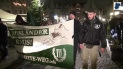 Demo in Hachenburg am 14.  Dezember