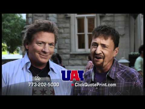 Eddie & Jobo at Water Tower Park for United Auto Insurance