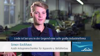 Ausbildungsberuf Anlagenmechaniker bei Linde