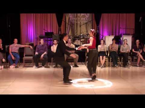 ILHC 2011 - Invitational Lindy Jack and Jill - Juan Villafane & Annie Trudeau