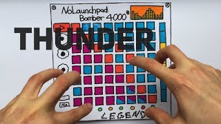 IMAGINE DRAGONS - THUNDER (Launchpad Cover)