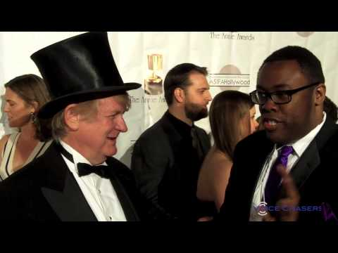 Voice Actor Bill Farmer (voice of Goofy) at the 41st Annual Annie Awards