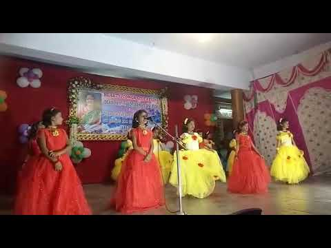 Gooty RS St Mary's school vayadi petha pulla dance