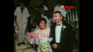 رقص هشام عباس وحميد الشاعري في فرح صاحب أغنية ليلة العمر