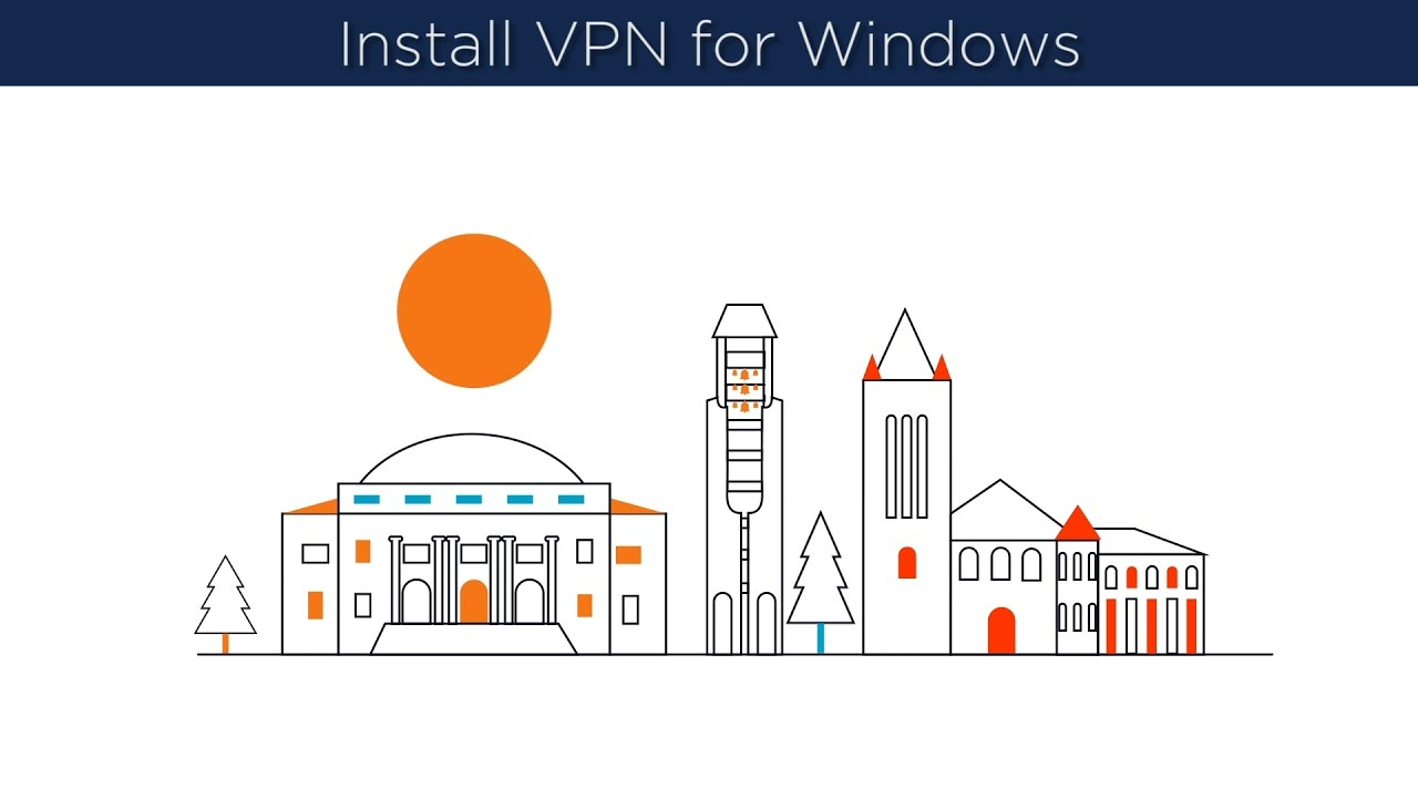VPN, CISCO AnyConnect, Installation Instructions for Windows