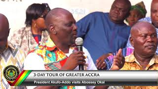 3-Day Tour of Greater Accra; A visit to Abossey Okai