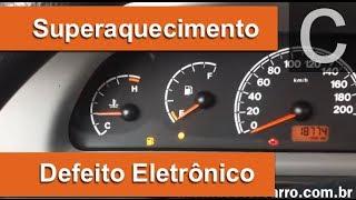 Dr CARRO SuperAquecimento Motor - Defeito eletrônico interessante em um Palio