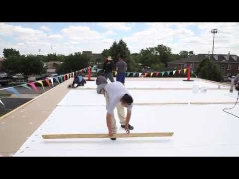 Commercial Roofing in Chicago,  Flat Roof Replacement