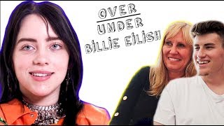 MOM REACTS TO BILLIE EILISH RATES BEING HOMESCHOOLED, GOTHS, & INVISALIGN!!!