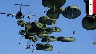 Islamic State: U.S. airdrop weapons to Kurdish fighters battling against IS in Kobane