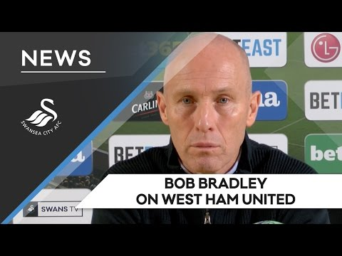 Swans TV - Reaction: Bob Bradley on West Ham