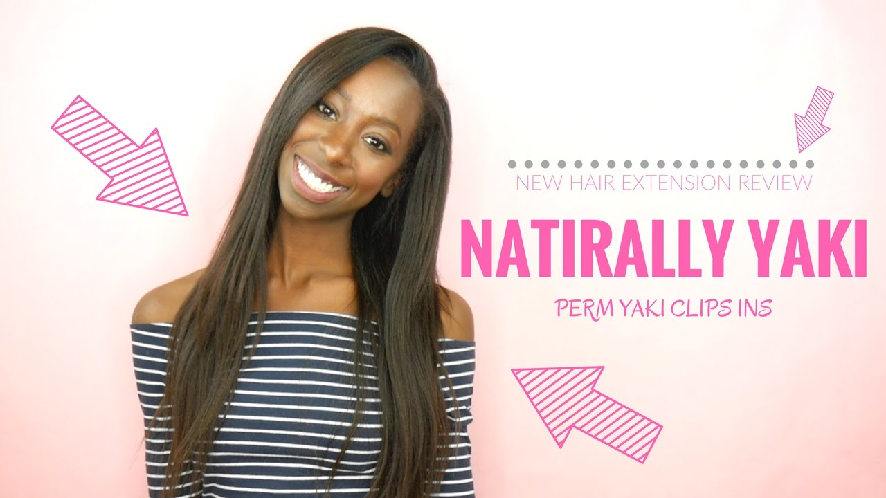Naturally Yaki Hair Extensions Review Black Girls Youtube