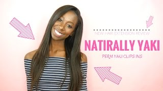 Naturally Yaki Hair Extensions Review | Black girls