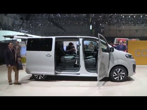 2016 geneva motor show citroen space tourer automototv. Black Bedroom Furniture Sets. Home Design Ideas