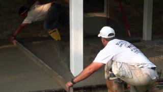 How To Pour Concrete Patio