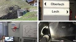 Autofreies Oberlech innovatives Tunnelsystem Rundgang