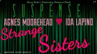 "♥ AGNES MOOREHEAD & IDA LUPINO • 2 Very Strange ""Sisters"" • SUSPENSE Best Episodes"