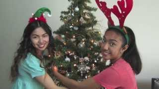 hAbby Holidays: Decorating our Christmas Tree 2013 ft. My Sister Thumbnail