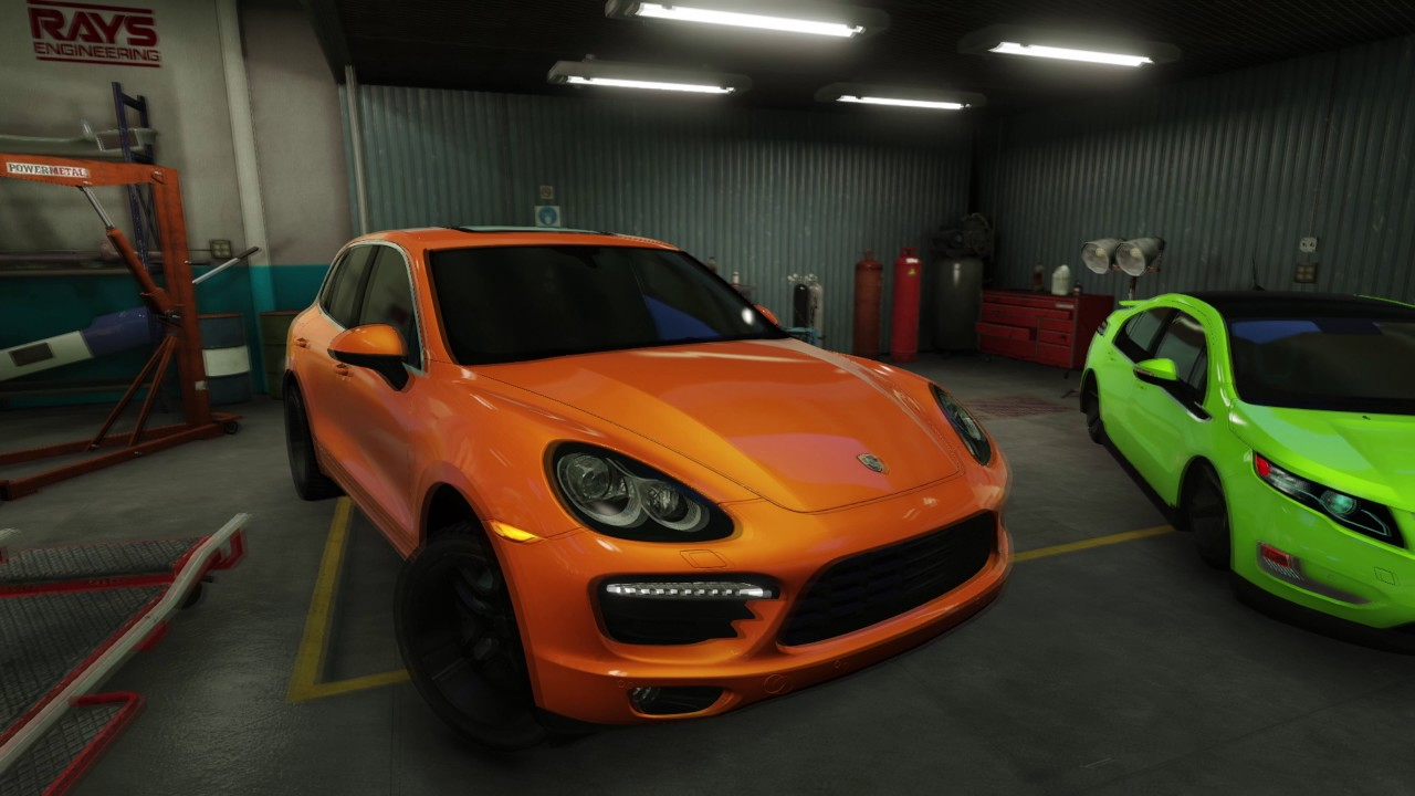 Gta 5 west coast customs garage tuning garage 4k youtube for Garage mj auto