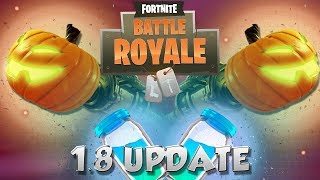 FORTNITE UPDATE 1.8 PATCH NOTES (FORTNITEMARES)