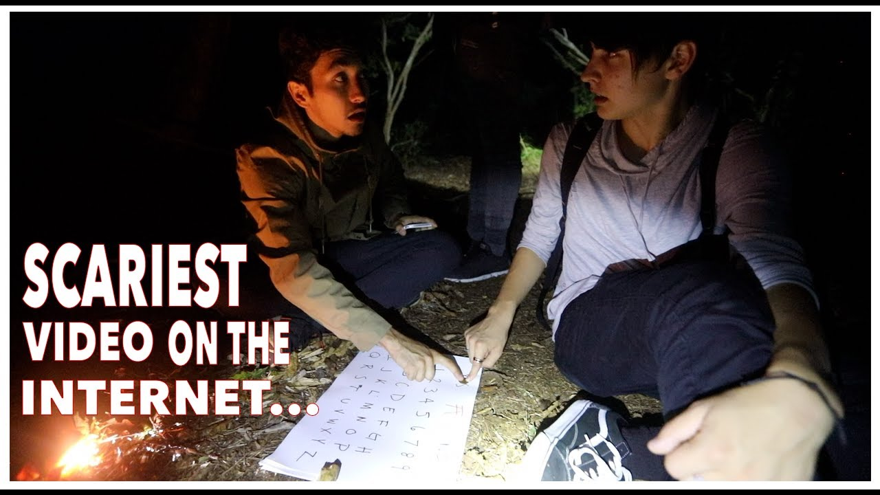 Ouija Board in Suicide Forest…| Aokigahara, Japan (scary)