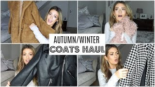 AUTUMM WINTER COATS & JACKETS HAUL & TRY ON (ZARA ASOS H&M RIVER ISLAND NEW LOOK PRIMARK)