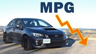 2015-2019 Subaru WRX Gas Mileage Update | MPG, Fuel Costs, Etc...