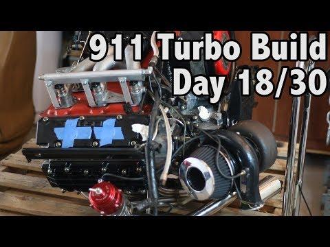 911 Turbo Garage Build Challenge!! - Day 18/30