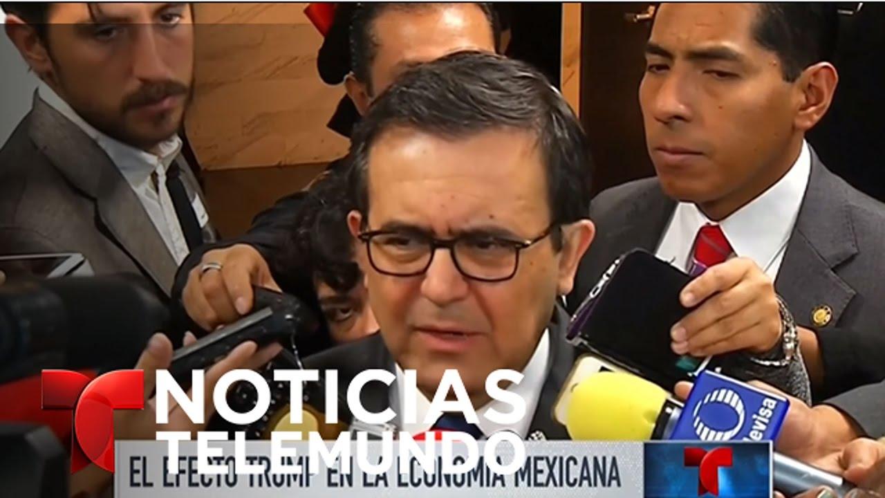 El real efecto Trump en la economía mexicana | Noticiero | Noticias Telemundo
