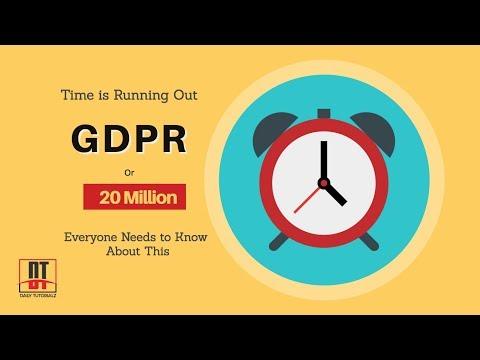 General Data Protection Regulation | GDPR Guidelines, Training & Checklist [Urdu] | SEO Tutorials#35