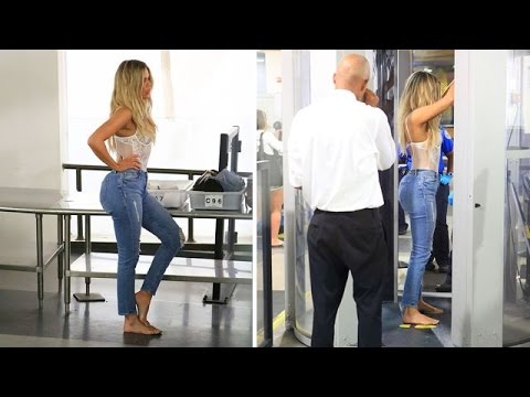 Khloe Kardashian Dodges Lamar Questions, Strips Down At LAX