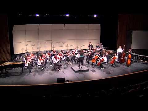 Bluegrass Country and James Bond Theme - Senior Orchestra at Strings Fest 2015