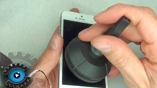 iphone 5 glas digitizer display wechseln tauschen reparieren german deutsch disassembly