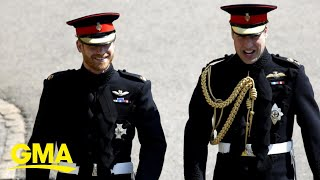 Prince William, Harry Remember Prince Philip In Separate Heartfelt Messages L GMA