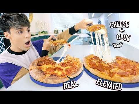 i tested REAL vs. ELEVATED food photo hacks