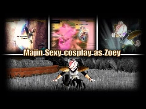 🎃Halloween special Majin Sexy cosplay as Zoey Xenoverse 2 🎃 (Ranked match)